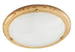 Rába Fa UFO mennyezeti lámpa opál üveggel