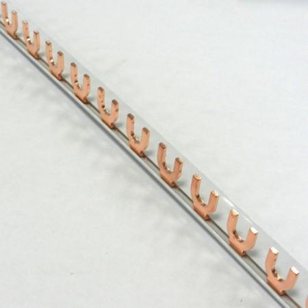 Egyfázisú villás fésűs sín, Stilo típus  1m-es