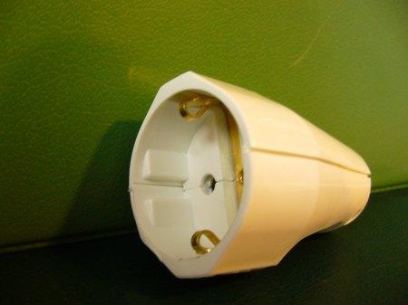 Kopp műanyag lengőcsatlakozó