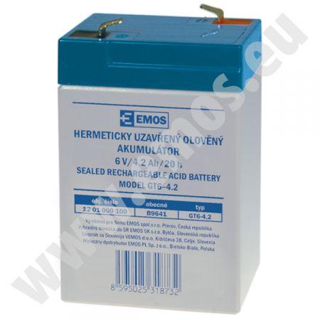 EMOS  6V/4 Ah  akkumulátor