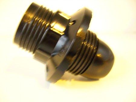 Lámpafoglalat E14 csillár, fekete