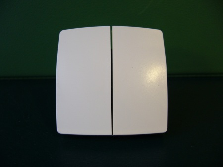 Legrand Oteo 086102 Kétáramkörös (csillár-105) kapcsolóbetét