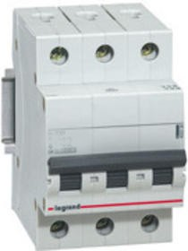 Legrand 419233 RX 3p C10A kismegszakító