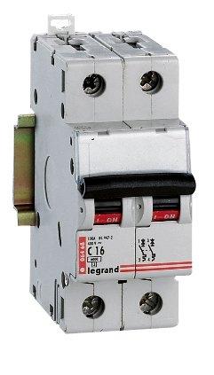 Legrand RX419222  2p C10A kismegszakító
