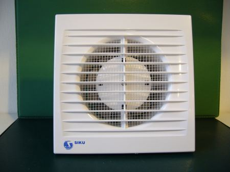 SIKU 100ST időkapcsolós fali ventillátor