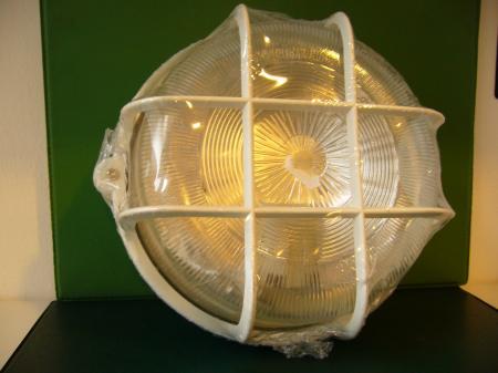 Műanyag rácsos lámpa